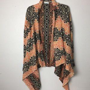 Grace & Lace Southwestern Sweater Shrug Shawl
